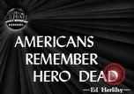 Image of dead soldiers New York United States USA, 1944, second 1 stock footage video 65675071263