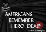 Image of dead soldiers New York United States USA, 1944, second 3 stock footage video 65675071263