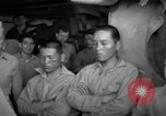 Image of Japanese prisoners Pacific Ocean, 1945, second 44 stock footage video 65675071266