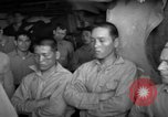 Image of Japanese prisoners Pacific Ocean, 1945, second 45 stock footage video 65675071266
