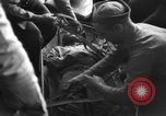Image of Japanese prisoners Pacific Ocean, 1945, second 51 stock footage video 65675071266