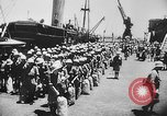 Image of troops ships India, 1942, second 28 stock footage video 65675071271