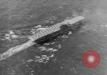 Image of Aircraft Carrier USS Enterprise Pacific Ocean, 1941, second 6 stock footage video 65675071274