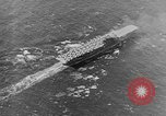 Image of Aircraft Carrier USS Enterprise Pacific Ocean, 1941, second 7 stock footage video 65675071274