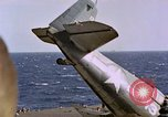 Image of Japanese plane crash Pacific Ocean, 1944, second 19 stock footage video 65675071277