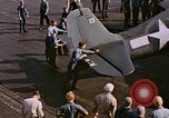 Image of Japanese plane crash Pacific Ocean, 1944, second 25 stock footage video 65675071277