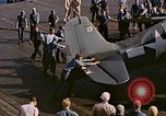Image of Japanese plane crash Pacific Ocean, 1944, second 27 stock footage video 65675071277