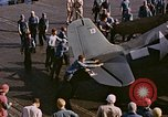 Image of Japanese plane crash Pacific Ocean, 1944, second 28 stock footage video 65675071277