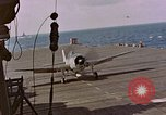Image of Japanese plane crash Pacific Ocean, 1944, second 60 stock footage video 65675071277