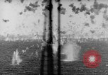 Image of Japanese air attack Pacific Ocean, 1945, second 45 stock footage video 65675071295