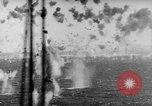 Image of Japanese air attack Pacific Ocean, 1945, second 46 stock footage video 65675071295