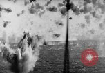 Image of Japanese air attack Pacific Ocean, 1945, second 57 stock footage video 65675071295