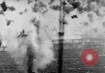 Image of Japanese air attack Pacific Ocean, 1945, second 58 stock footage video 65675071295