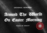 Image of Easter day services United States USA, 1965, second 2 stock footage video 65675071312
