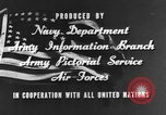 Image of American football match United States USA, 1945, second 14 stock footage video 65675071316