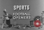 Image of American football match United States USA, 1945, second 25 stock footage video 65675071316