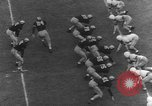 Image of American football match United States USA, 1945, second 58 stock footage video 65675071316