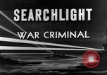 Image of war crime trials Paris France, 1945, second 8 stock footage video 65675071318