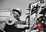 Image of practice firing Iwo Jima, 1945, second 28 stock footage video 65675071339