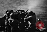 Image of practice firing Iwo Jima, 1945, second 34 stock footage video 65675071339