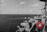 Image of Operation Sandstone nuclear tests and preparations Enewetak Atoll Marshall Islands, 1948, second 30 stock footage video 65675071373