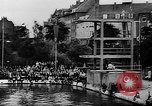 Image of swimming competition Germany, 1943, second 10 stock footage video 65675071389
