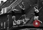 Image of swimming competition Germany, 1943, second 13 stock footage video 65675071389