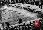 Image of swimming competition Germany, 1943, second 24 stock footage video 65675071389