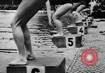 Image of swimming competition Germany, 1943, second 50 stock footage video 65675071389