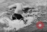 Image of swimming competition Germany, 1943, second 57 stock footage video 65675071389