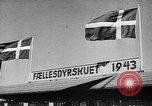 Image of agricultural show Bellahoj Denmark, 1943, second 3 stock footage video 65675071390