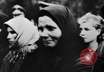 Image of funeral services Vinnitsa Ukraine Soviet Union, 1943, second 14 stock footage video 65675071392