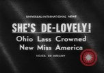 Image of beauty contest Atlantic City New Jersey USA, 1962, second 4 stock footage video 65675071408