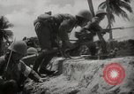 Image of Japanese troops occupying Port Blair, Andoman Islands Andaman Islands, 1942, second 36 stock footage video 65675071423