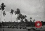 Image of Japanese troops occupying Port Blair, Andoman Islands Andaman Islands, 1942, second 47 stock footage video 65675071423
