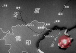 Image of Animated map showing paths of Japanese occupation Hanoi French Indochina, 1940, second 7 stock footage video 65675071426