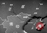 Image of Animated map showing paths of Japanese occupation Hanoi French Indochina, 1940, second 8 stock footage video 65675071426
