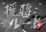 Image of Animated map showing paths of Japanese occupation Hanoi French Indochina, 1940, second 11 stock footage video 65675071426