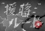 Image of Animated map showing paths of Japanese occupation Hanoi French Indochina, 1940, second 12 stock footage video 65675071426