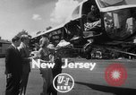 Image of Marilyn Rich stunt on rings New York City USA, 1951, second 2 stock footage video 65675071433