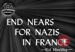 Image of Allies liberating Le Mans France World War 2 France, 1944, second 21 stock footage video 65675071443