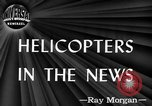Image of early helicopters United States USA, 1944, second 2 stock footage video 65675071445