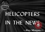 Image of early helicopters United States USA, 1944, second 3 stock footage video 65675071445