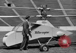 Image of early helicopters United States USA, 1944, second 16 stock footage video 65675071445