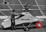 Image of early helicopters United States USA, 1944, second 18 stock footage video 65675071445