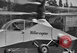Image of early helicopters United States USA, 1944, second 31 stock footage video 65675071445