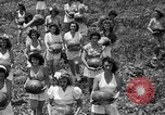 Image of young girls Port Arthur Texas USA, 1944, second 16 stock footage video 65675071447