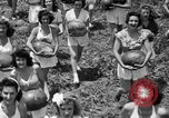 Image of young girls Port Arthur Texas USA, 1944, second 18 stock footage video 65675071447