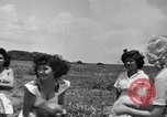 Image of young girls Port Arthur Texas USA, 1944, second 32 stock footage video 65675071447