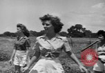 Image of young girls Port Arthur Texas USA, 1944, second 34 stock footage video 65675071447